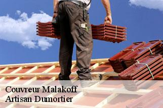 Couvreur  malakoff-92240 Artisan Dumortier